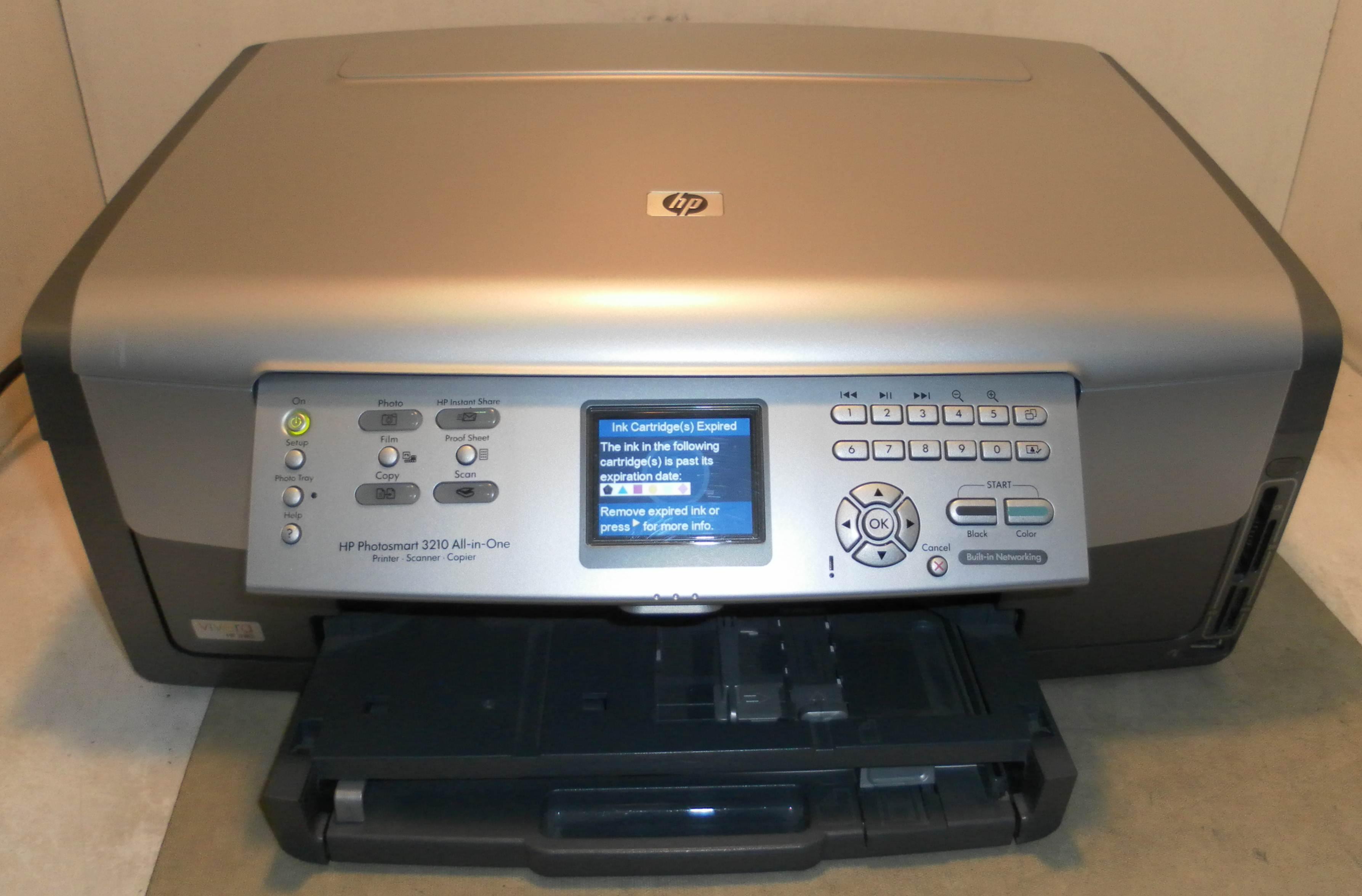 HP Photosmart 3210 All in One Inkjet Printer Q5841A | eBay